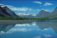 Nationalpark Sarek in Schweden