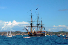 The Tall Ship Races enden in Schweden