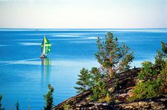 Schären bei Luleå an der Ostsee in Schweden